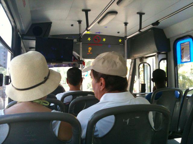 Vy från buss